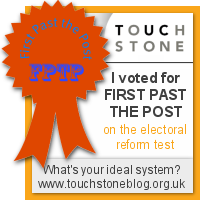 First Past The Post - I voted at the Electoral Reform Test