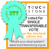 Single Transferable Vote - I voted at the Electoral Reform Test