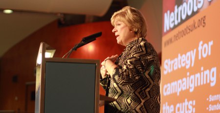Polly Toynbee at Netroots UK