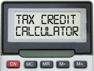 Tax Credit changes calculator