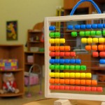 Abacus in a nursery