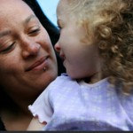 Photo: A mother plays with her daughter - both benefited from SPAN's support services in Bristol. Photo © Span UK