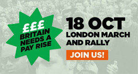 Britain Needs A Pay Rise: 18 Oct 2014