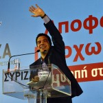 Alexis Tsipras at a 2012 election rally