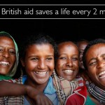 British aid saves a life every two minutes