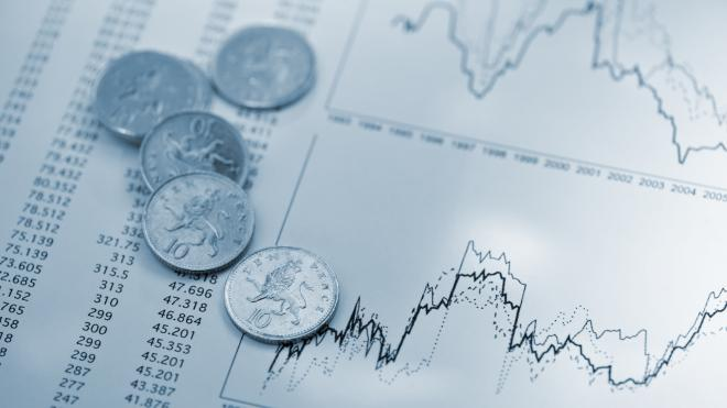 coins and charts
