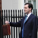 George Osborne prepares to give his 2010 budget speech. Photo: Number 10 / Crown Copyright