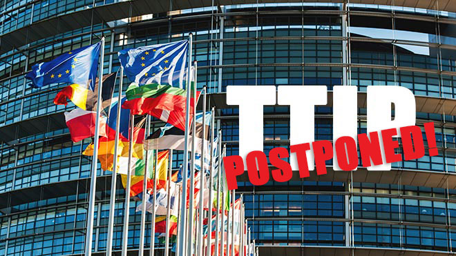 TTIP vote postponed