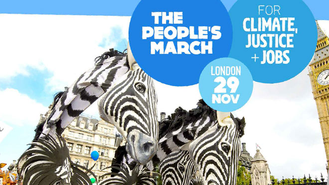People's March for climate, jobs and justice
