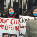 Protest against closure of Apna Haq, a specialist BME service in Rotherham