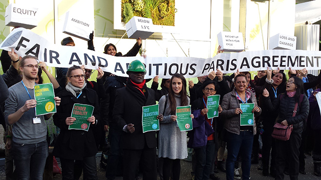 Climate demonstration in Paris © Private