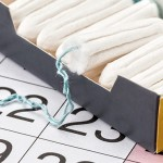 tampons and period calendar