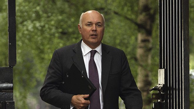 Iain Duncan Smith. Photo: Dan Kirkwood