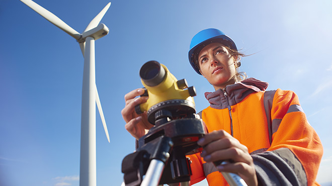 Wind energy engineer