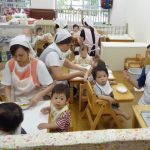 Workers at a childcare centre in Tokyo. Photo credit: e_chaya, Creative Commons