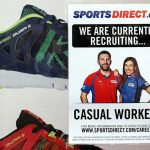 Sports Direct recruitment poster