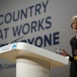 Theresa May at Conservative Conference 2016. Photo: David Hartley /REX /Shutterstock