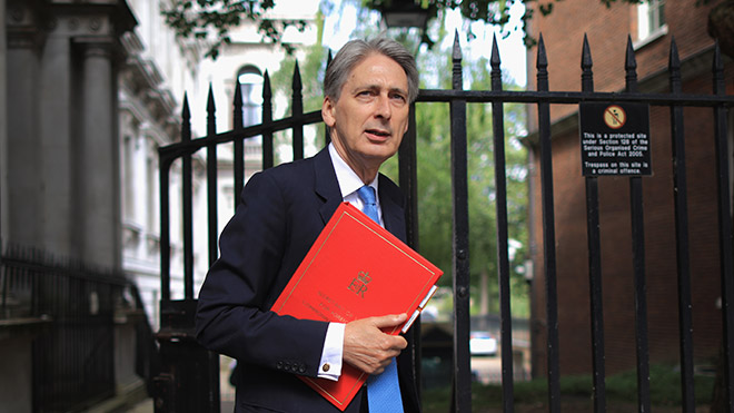 Chancellor of the Exchequer, Philip Hammond