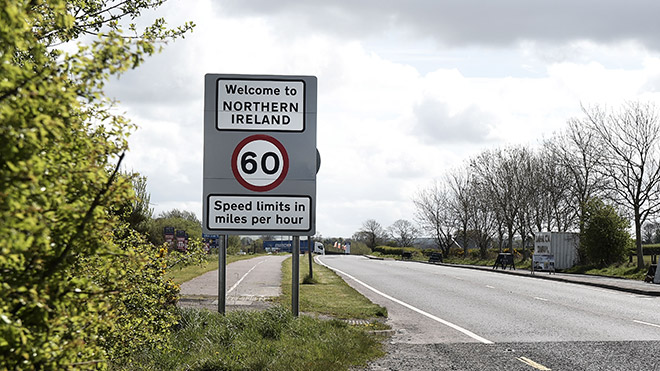 Northern Ireland border with the Republic