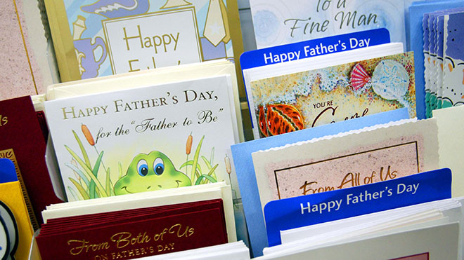 Fathers' Day cards