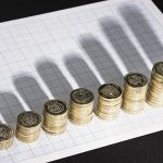 graph of pound coins