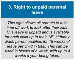 unpaid parental leave